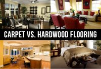 Carpet vs. Hardwood Flooring - Each Has Their Own Benefits