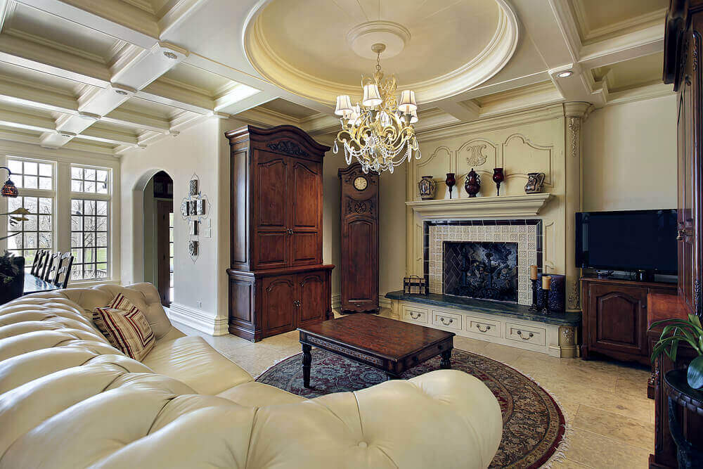 36 Elegant Living Rooms that are Richly Furnished \ Decorated - elegant living rooms