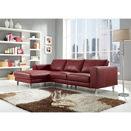 Medium Crop Of Modern Leather Sofa