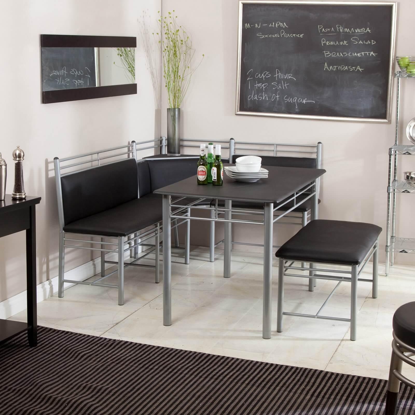 breakfast nook furniture sets kitchen tables 12 Modern Breakfast Nook Set