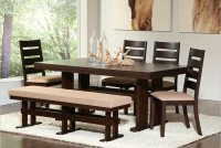 26 Dining Room Sets (Big and Small) with Bench Seating (2018)