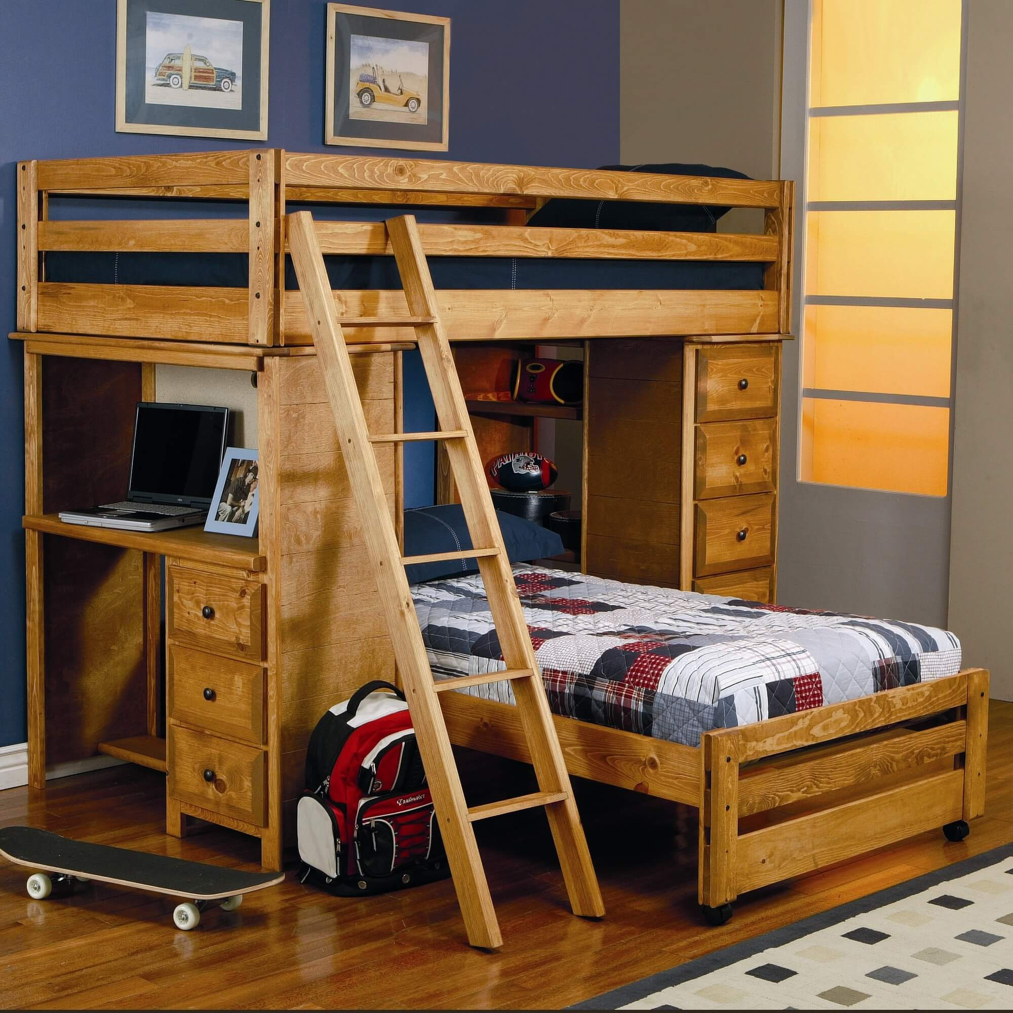 Double Bunks For Sale 21 Top Wooden L Shaped Bunk Beds With Space Saving Features