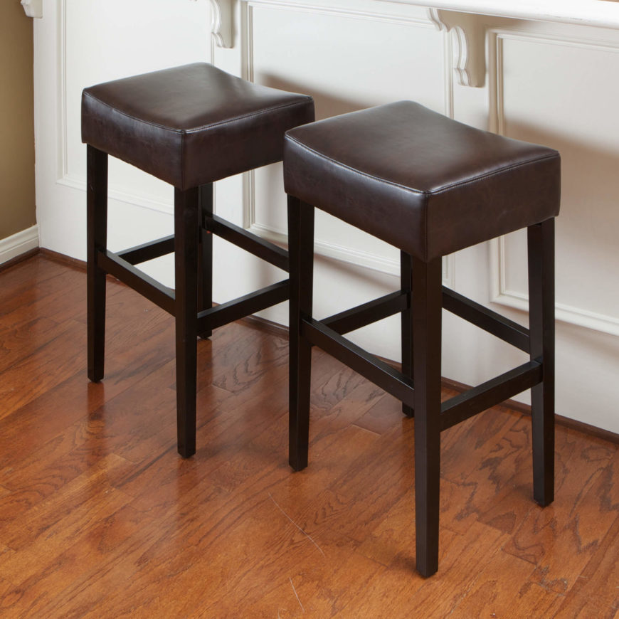 52 Types Of Counter Bar Stools Buying Guide - Backless Stools