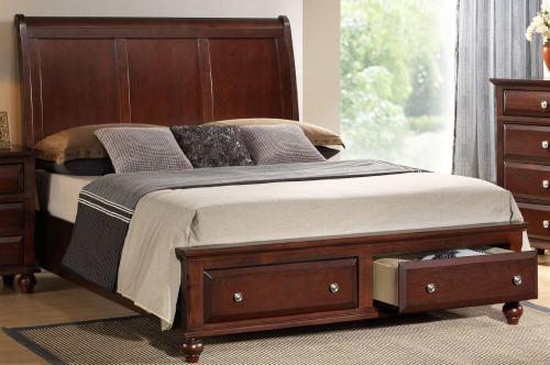 Medium Of Bed Platform Queen