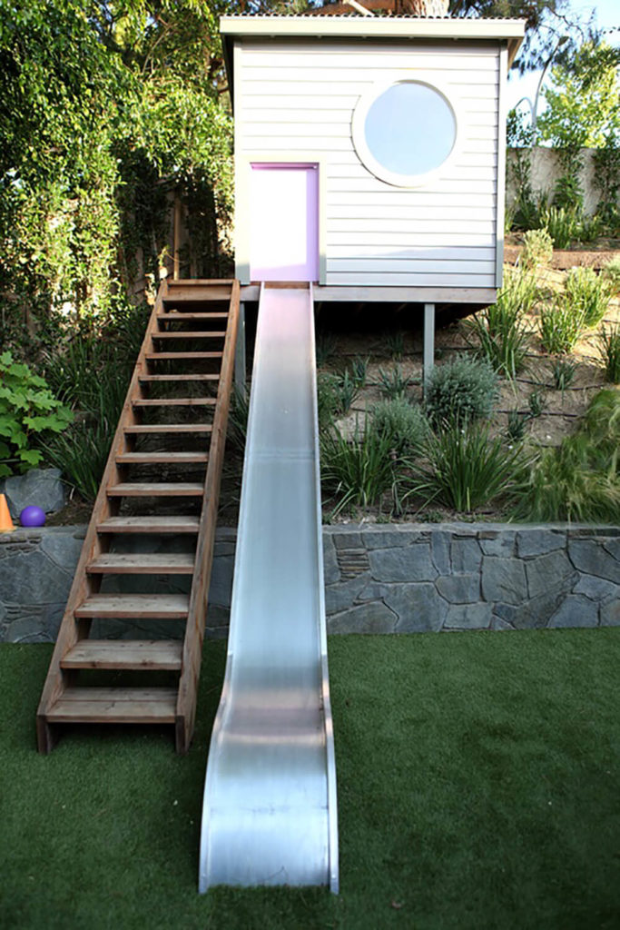 34 Amazing Backyard Playground Ideas and Photos (for the