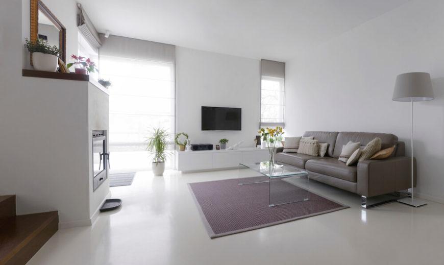 22 Stunning Living Room Flooring Ideas - living room floor