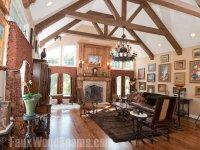 15 Faux Wood Ceiling Beam Ideas (Photos)