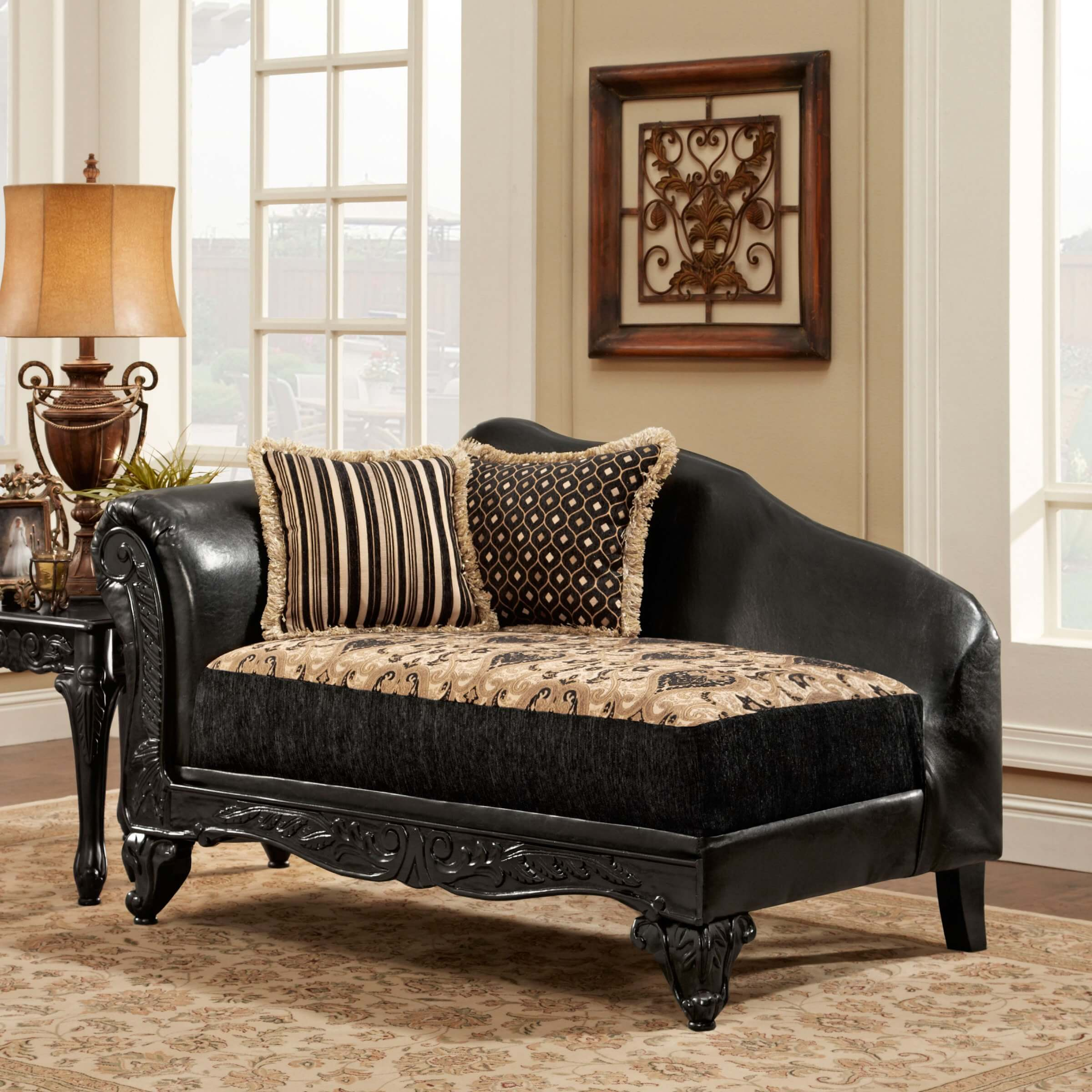 Leather Upholstered Lounge Top 20 Types Of Black Chaise Lounges Buying Guide