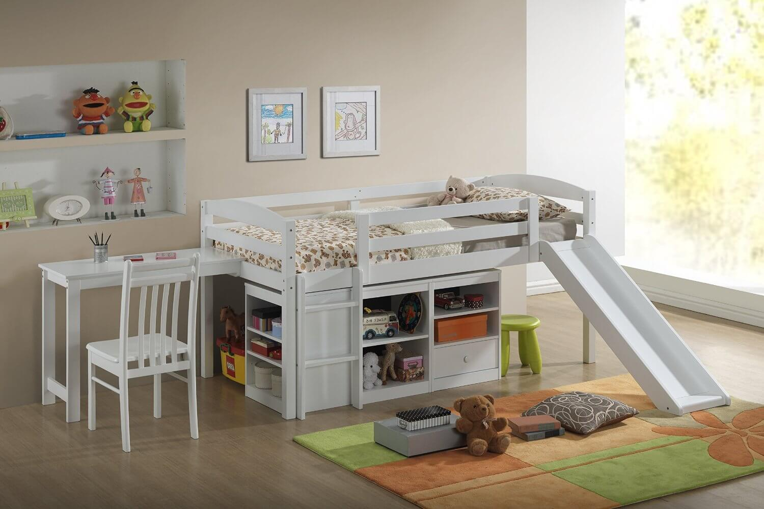 Beds And Beds Top 10 Kids Loft Beds With Slides