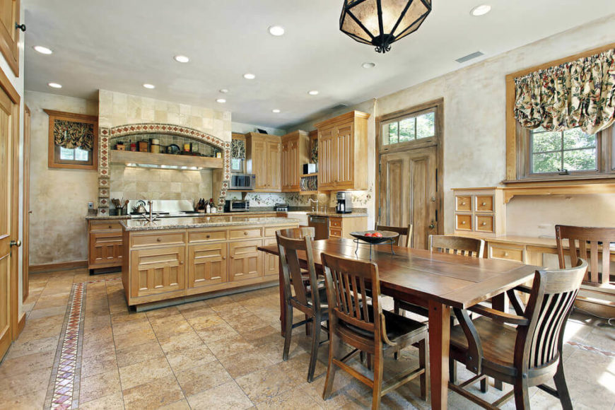 26 Craftsman Kitchens That Will Have You Loving Natural Wood
