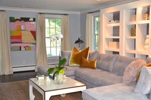 Medium Of Colorful Living Room Interior Design