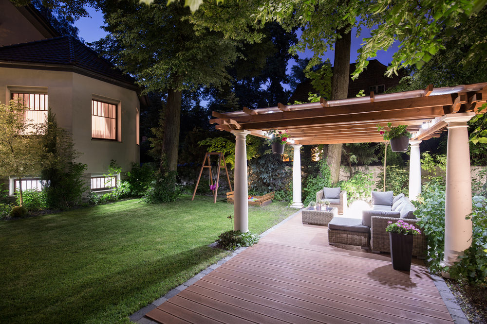 Pool Deck Terrasse 15 Different Outdoor Lighting Ideas For Your Home (all Types)