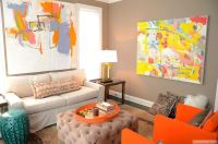 25 Orange Living Room Ideas for %%currentyear$$