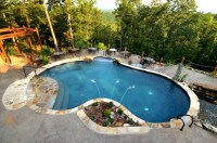 23 Outdoor Kidney-Shaped Swimming Pools (Gorgeous)