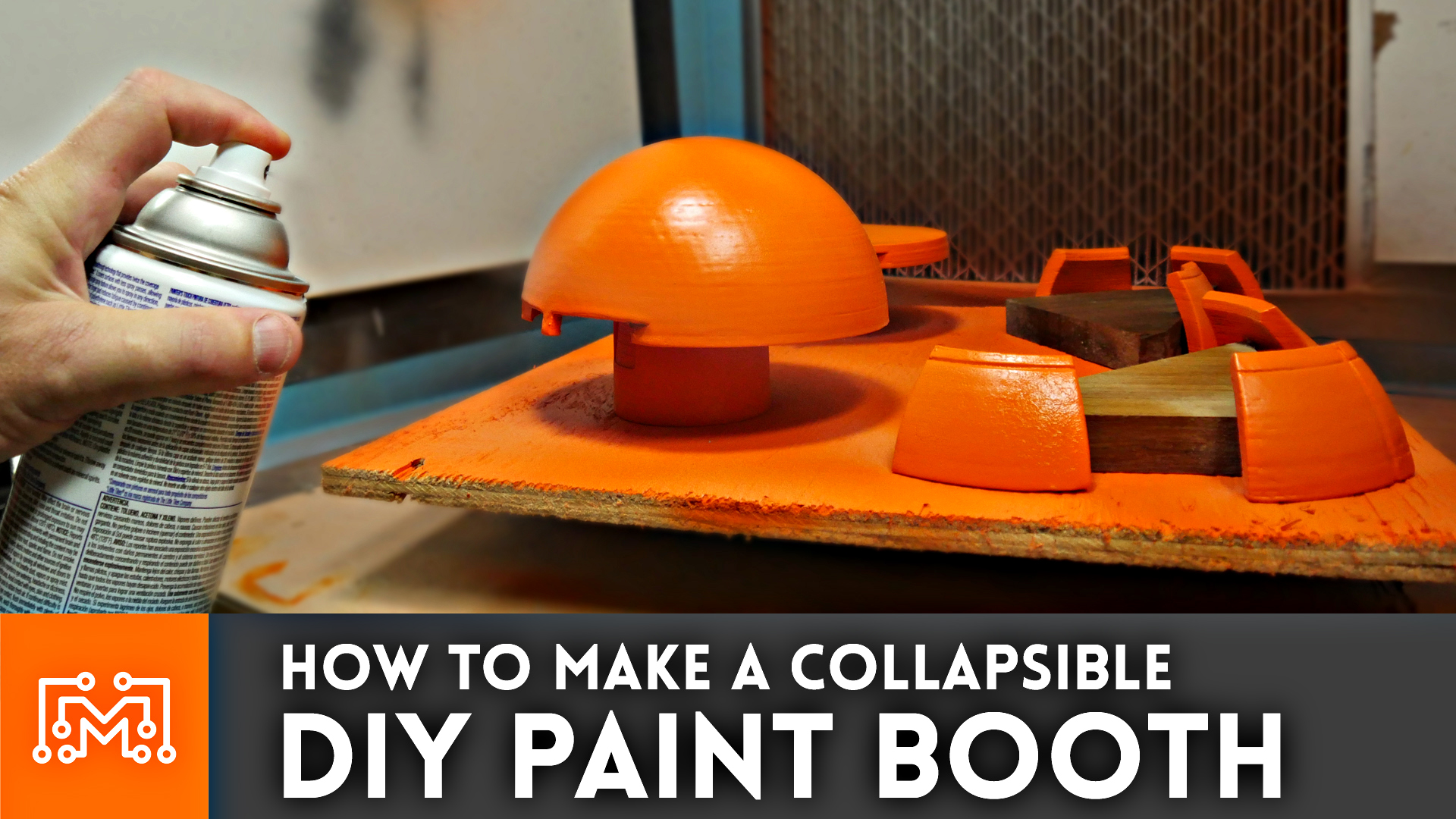 How To Make A Diy Paint Booth I Like To Make Stuff
