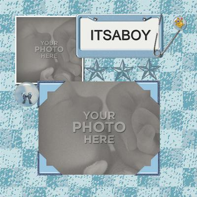 Digital Scrapbooking Kits Baby Boy Template Babies, Boys, Family