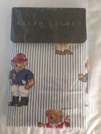 Ralph Lauren PROBA polo bear pillow cover pillowcase Ralph ...