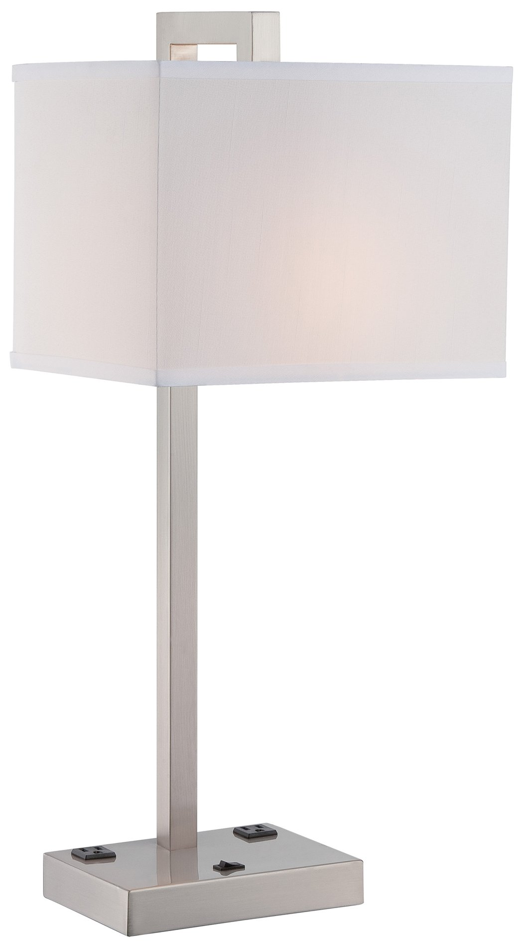 Contemporary Electrical Outlets Lite Source Contento Modern Contemporary Table Lamp Ls 22283 See Details