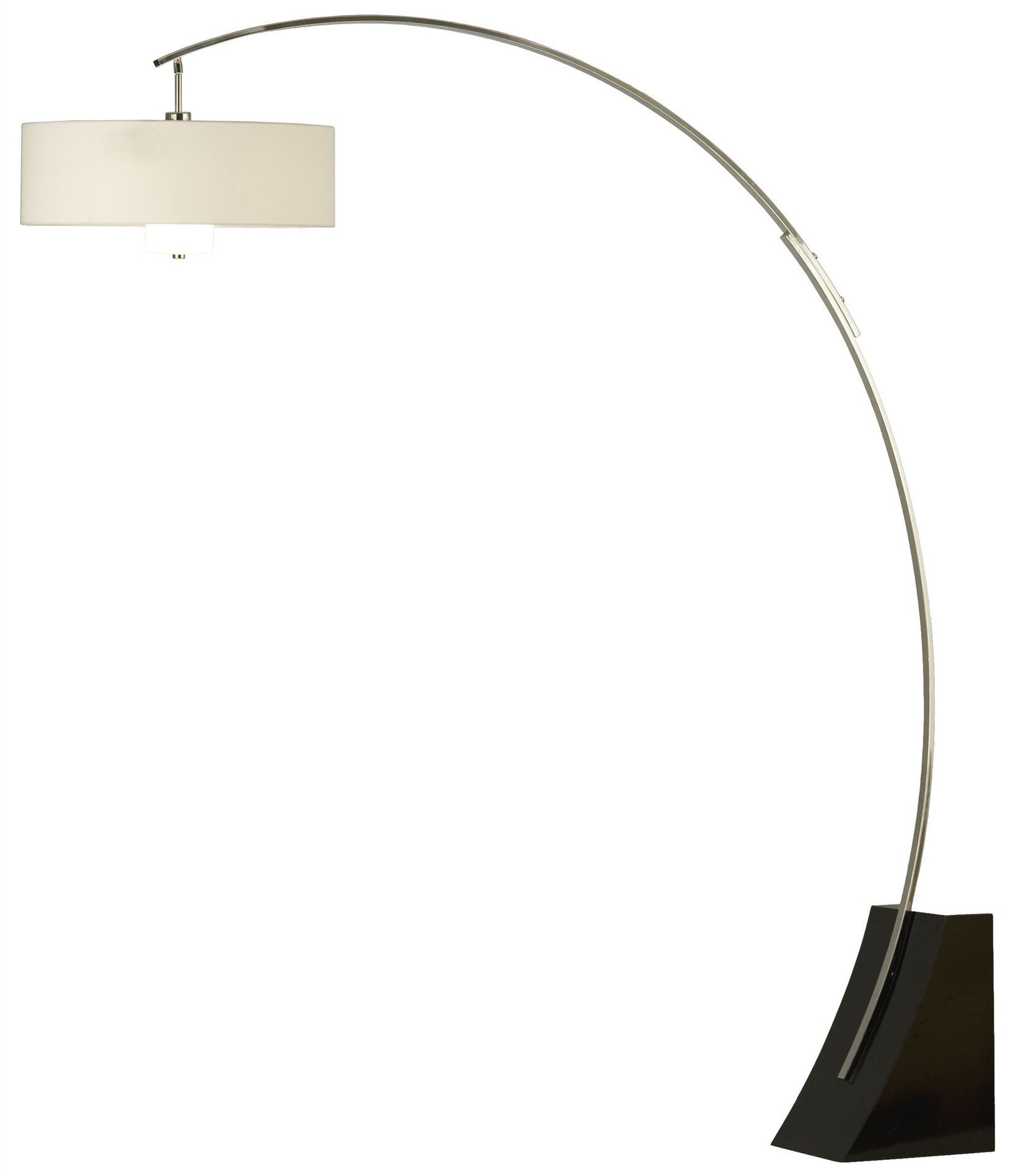 Small Arc Floor Lamp Nova Lighting Broadway Contemporary Arc Floor Lamp Nv 2110060 See Details