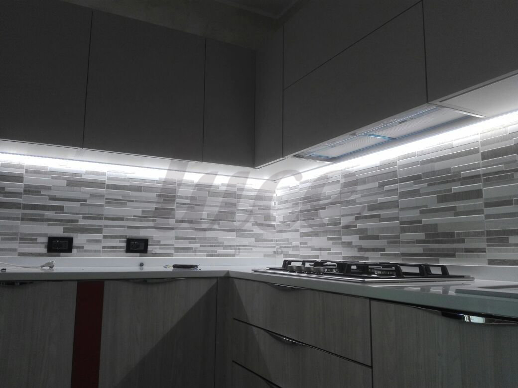 Luci Led Cappa Cucina | Crossled Faretto Led Slim Opaco Incasso 5w ...