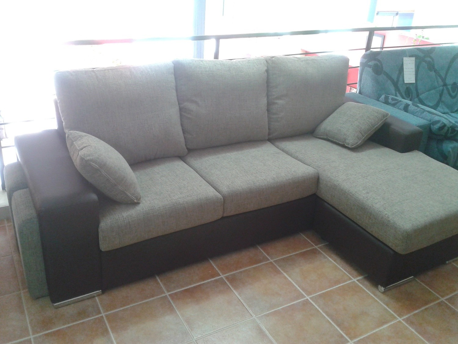 Muebles Sebe Sofa Chaiselongue De 245 Cm