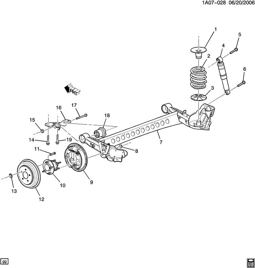 2008 Pontiac G6 Brake Diagram Wiring Diagram 2019