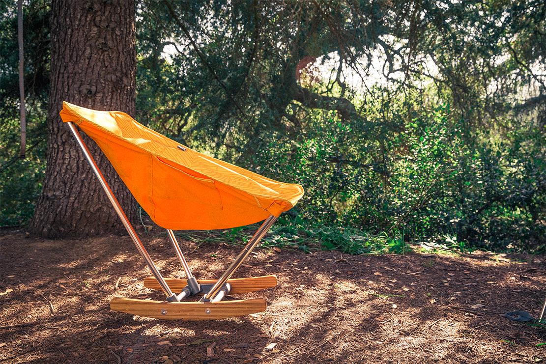 Evrgrn Rocking Camp Chair