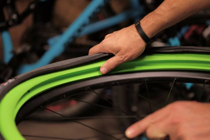Rolling on Foam Vittoria Air-Liner Mountain Bike Tire Inserts Reviewed