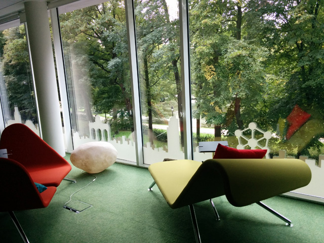 Google Belgium  Relaxing Work Space