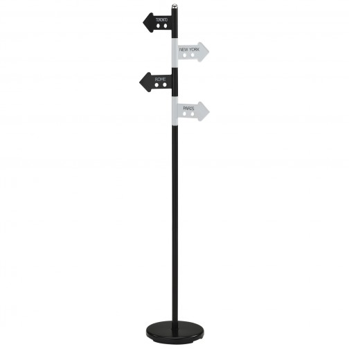 New Coat Rack Black White Finish 67 Quothigh Calgary