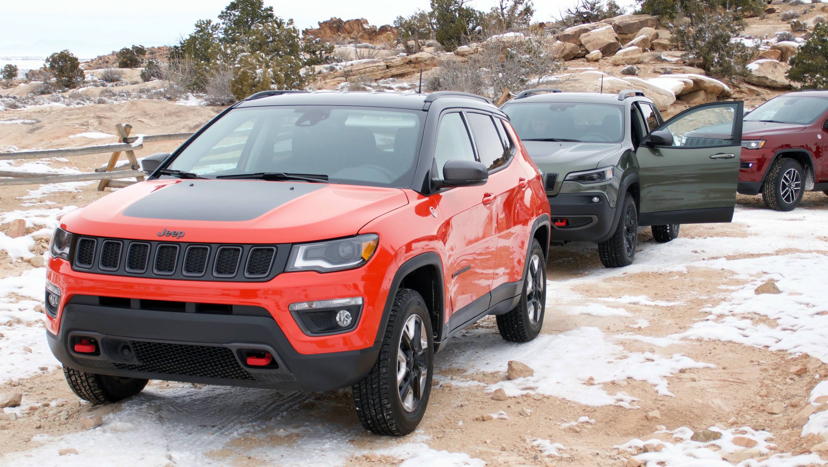 Jeep Trails Review 2019 Jeep Trailhawks Wheels Ca