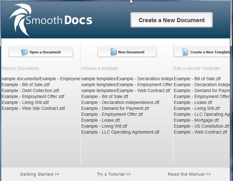 SmoothDocs Lets You Quickly Create Document From Templates - create document template