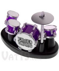 Finger Drums: Tap the drums and record your own beats.