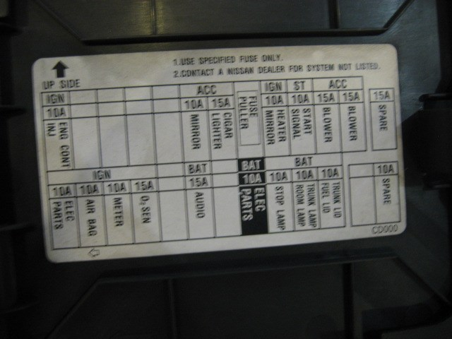 Fuse Box On Nissan 350z Wiring Diagram
