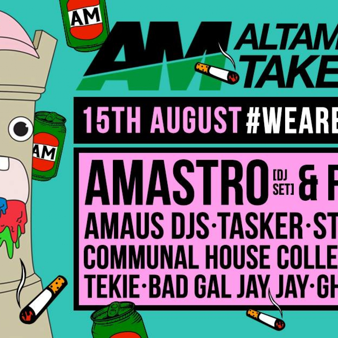 Bad Dj Set The Wall Ft Amastro Dj Set Friends At World Bar August 15