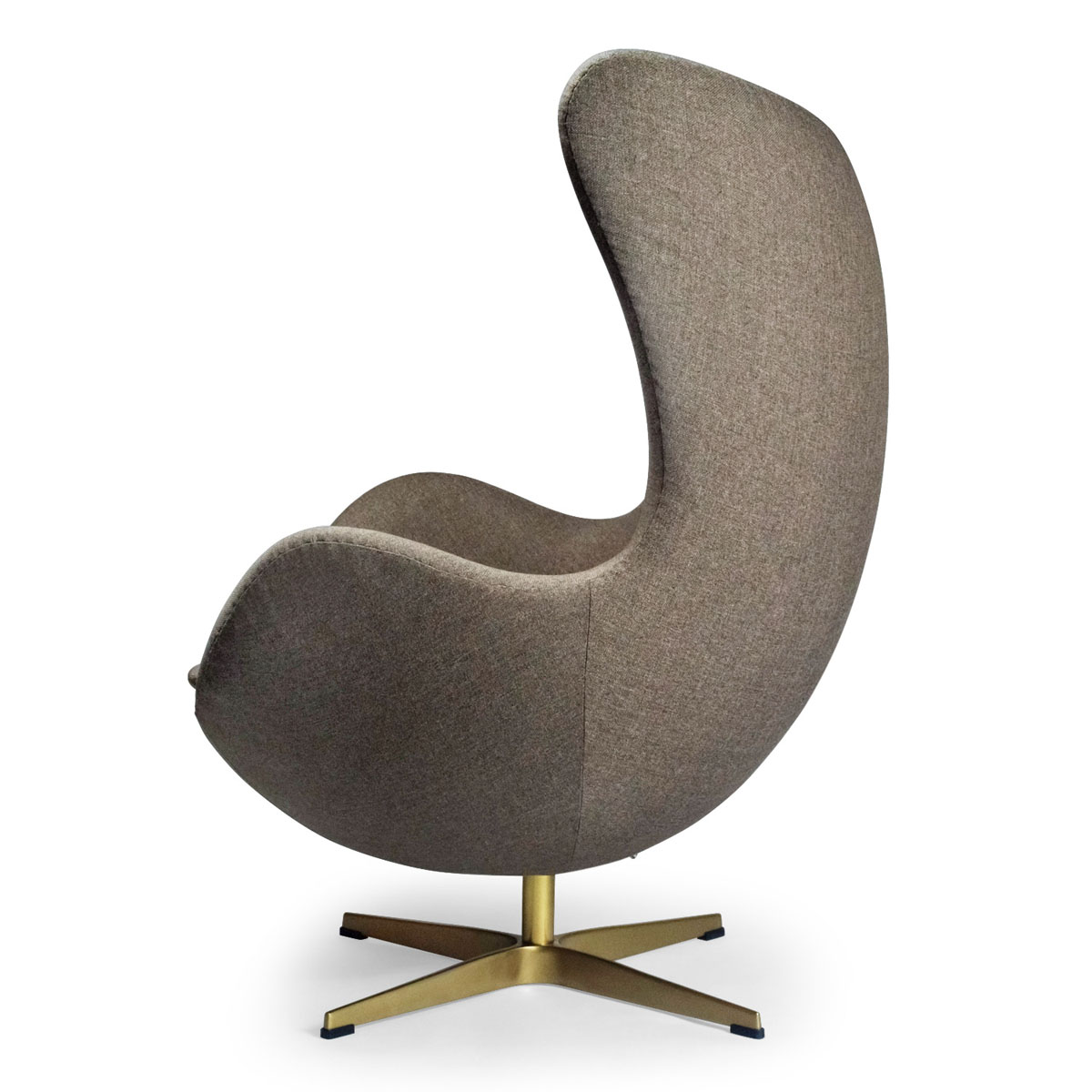 Egg Chair Arne Jacobsen Black Leather Egg Chair And Ottoman By