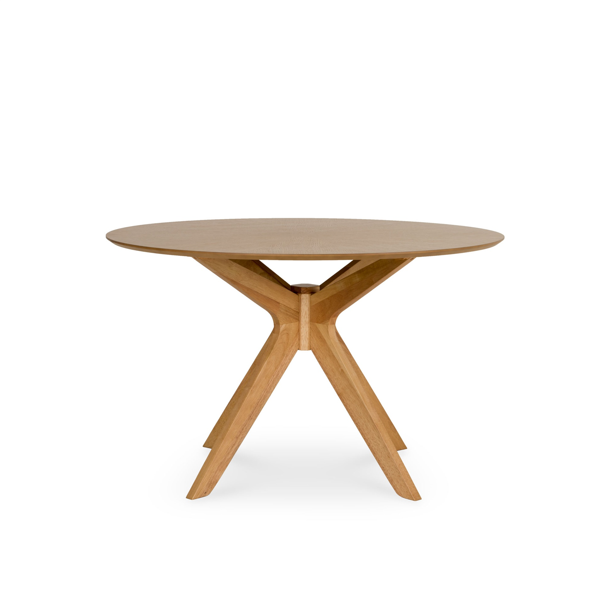 Round Oak Dining Table Starburst Round Dining Table