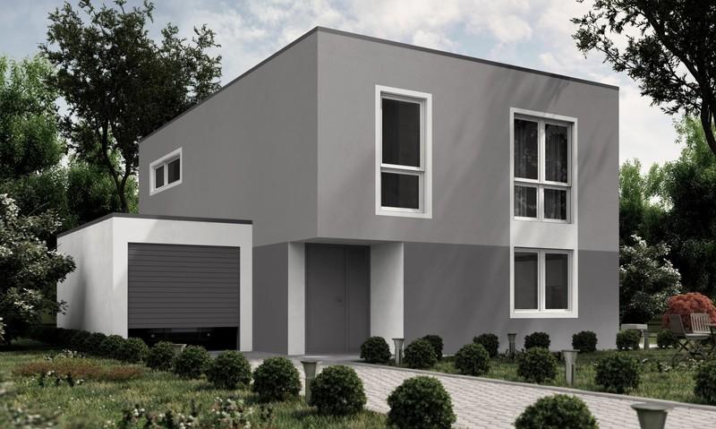 Fassadengestaltung Einfamilienhaus Beispiele Grün nzcen - fassadenfarbe beispiele