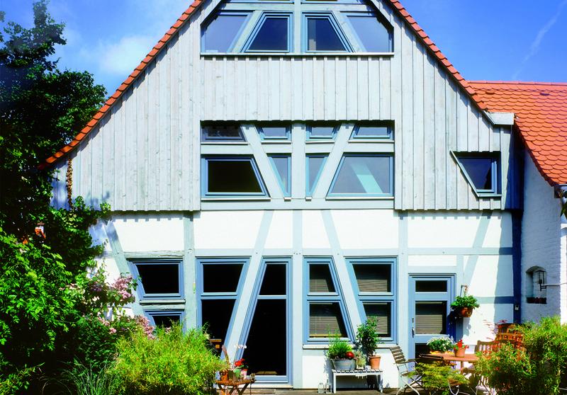 Fassadenfarbe Hellgrün harzite - fassadenfarbe beispiele