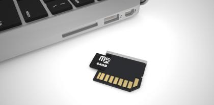 The MiniDrive & MicroSD Card