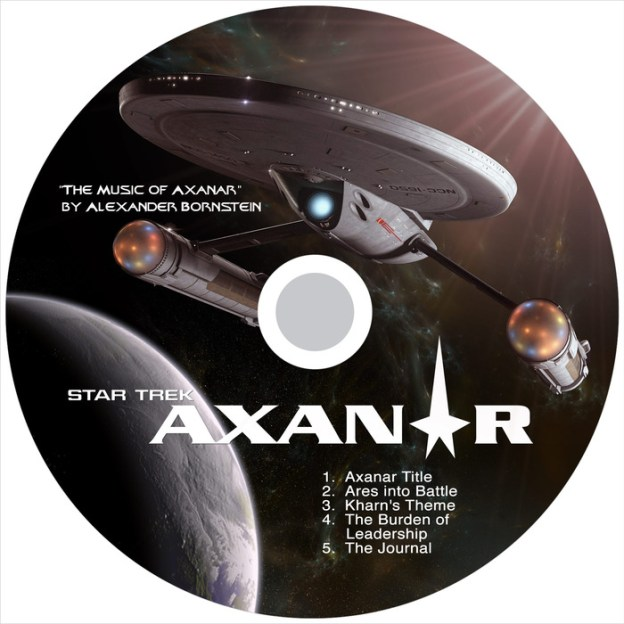 You get a limited edition Soundtrack CD featuring the music of composer Alex Bornstein at the $ 35 level