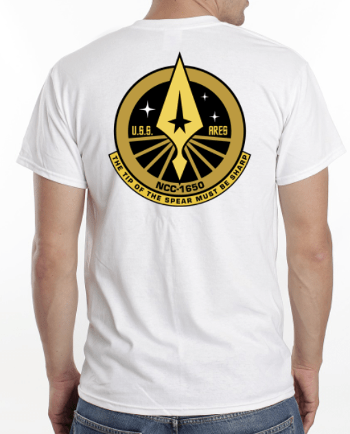 USS Ares T-Shirt (Back)