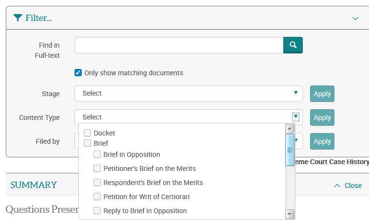 Document View - Case History - Supreme Court Insight - LibGuides at