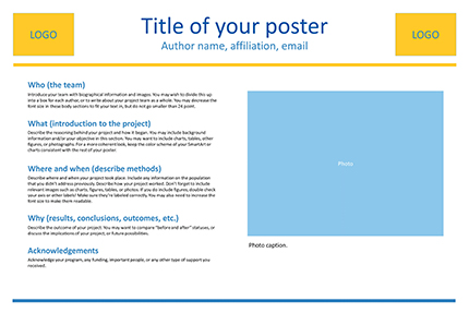 Size, Layout, and Text - Poster Presentations - Research Guides at