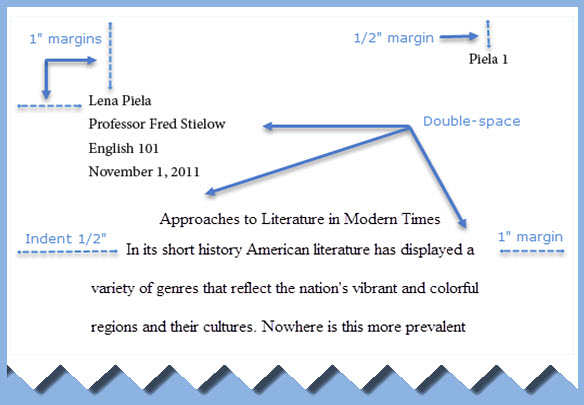 research paper guidelines mla
