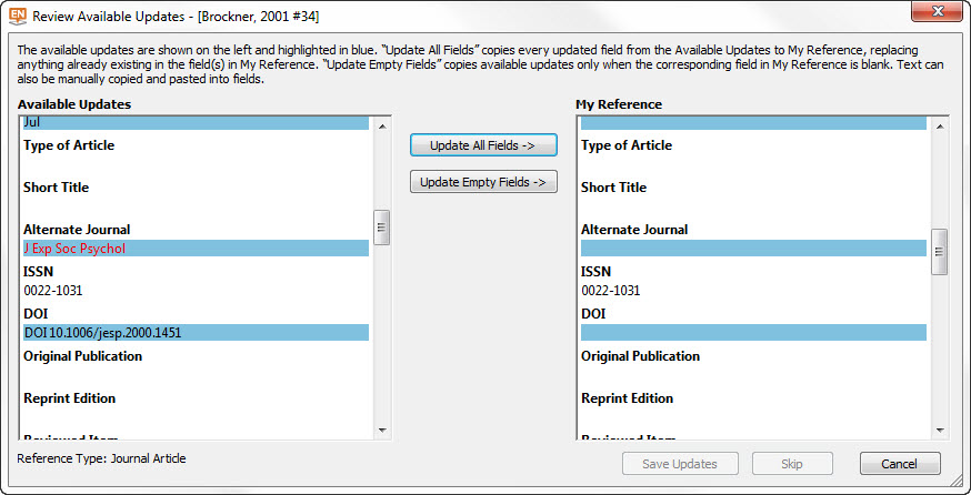 Troubleshooting - How to Select and Use Citation Management Tools