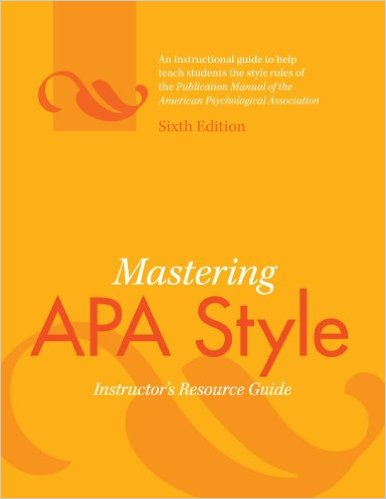 APA - Citing Sources - LibGuides at Alverno College
