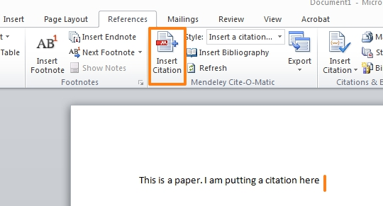 Bibliographies  Citations - Mendeley Reference Management - work cited layout