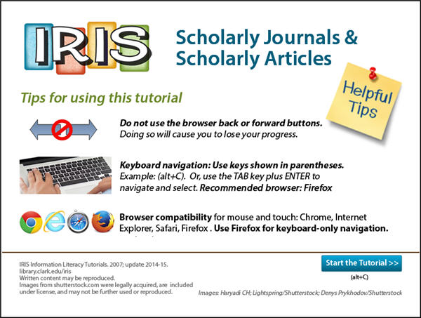How to Identify a Scholarly Article - ENGL 102 - English Composition