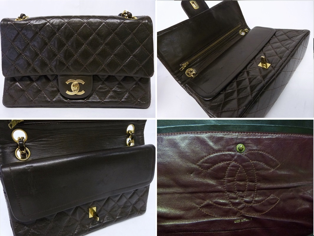 The misunderstood chanel double flap bag very old vintage